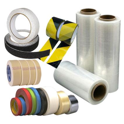 pásky těsnící, lepící, maskovací, balící