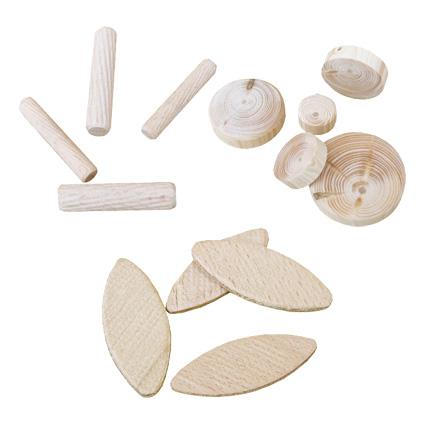 dřevěné spojovací a vyspravovací díly